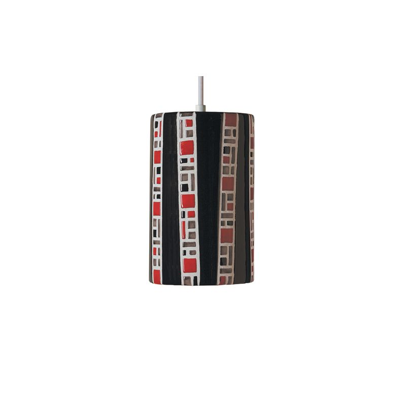 A19 PM20310 Ladders Single Light Pendant from the Mosaic Collection
