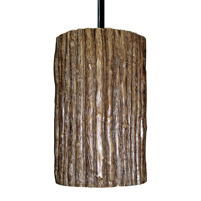 A19 PN20303 Twigs Single Light Pendant from the Nature Collection
