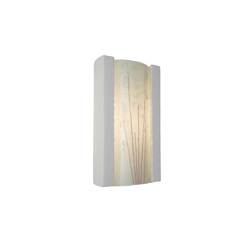A19 RE101 Meadow 1 Light Wall Washer Sconce from the reFusion Collection