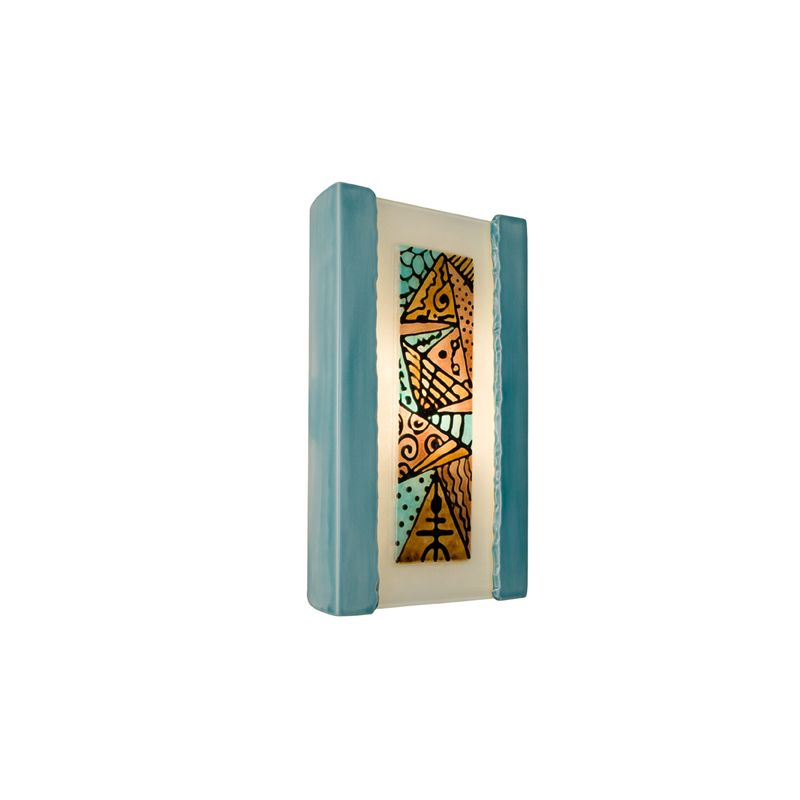 A19 RE103 Abstract 1 Light Wall Washer Sconce from the reFusion Collection