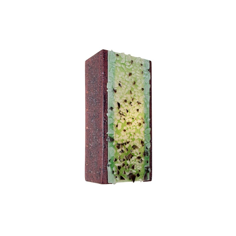 A19 RE109 Rocky 1 Light Wall Washer Sconce from the reFusion Collection