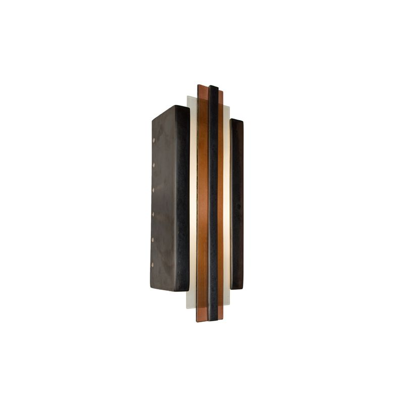 A19 RE113 Empire 1 Light Wall Washer Sconce from the reFusion Collection
