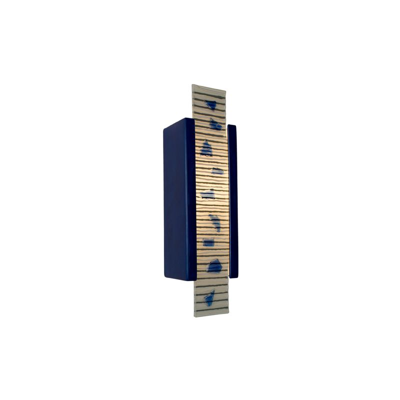 A19 RE115 Zen Garden 1 Light Wall Washer Sconce from the reFusion Collection