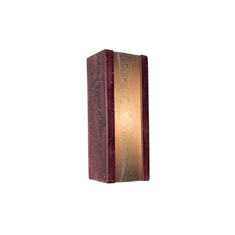 A19 RE116 Bubbly 1 Light Wall Washer Sconce from the reFusion Collection