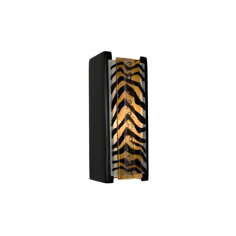 A19 RE117 Safari 1 Light Wall Washer Sconce from the reFusion Collection