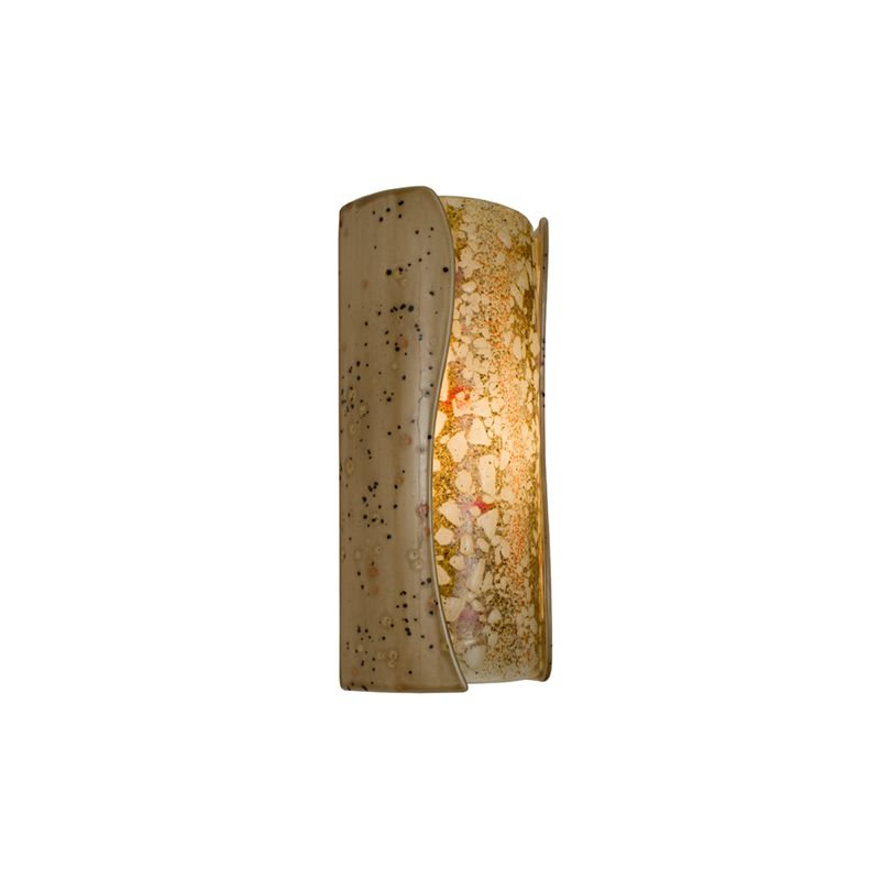A19 RE120 Lava 1 Light Wall Washer Sconce from the reFusion Collection