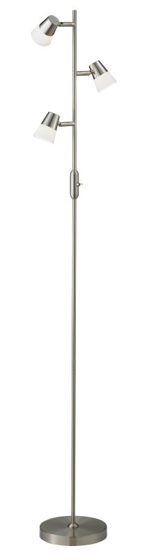 Adesso 3273-22 Vision 3 Light LED Floor Lamp
