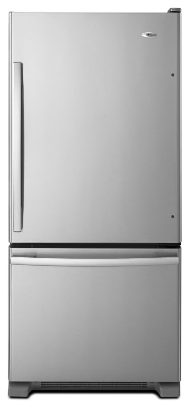 Amana ABB1924BR 30 Inch Wide 18.7 Cu. Ft. Bottom Mount Refrigerator with Adjusta photo