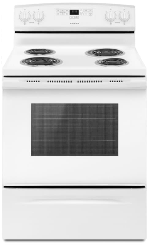 Amana ACR4303MF 30 Inch Wide 4.8 Cu. Ft. Free Standing Electric Range with Bake photo