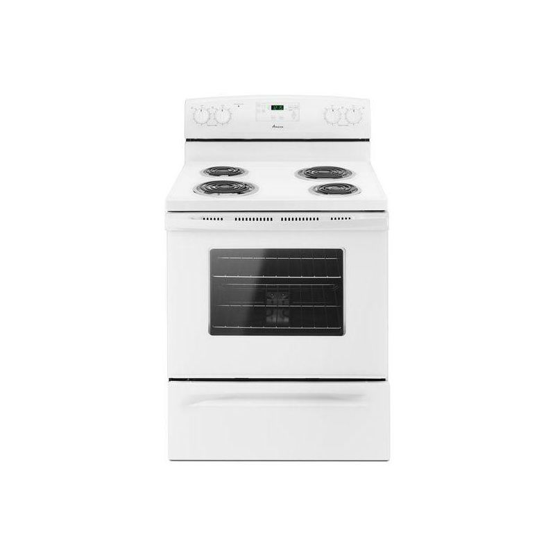 Amana ACR4503SE 30 Inch Wide 4.8 Cu. Ft. Freestanding Electric with Self-Cleanin photo