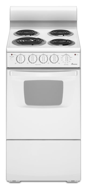 Amana AEP222VA 20 Inch Wide 2.6 Cu. Ft. Free Standing Electric Range with In-Ove photo