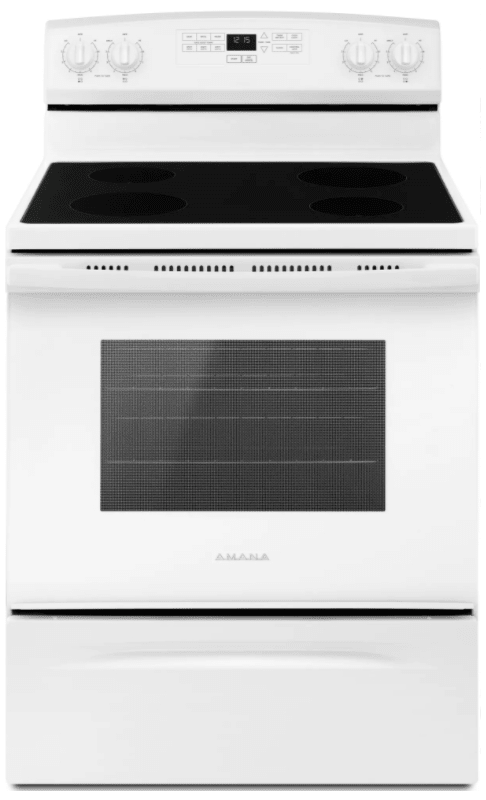 Amana AER6303MF 30 Inch Wide 4.8 Cu. Ft. Free Standing Electric Range with Keep photo