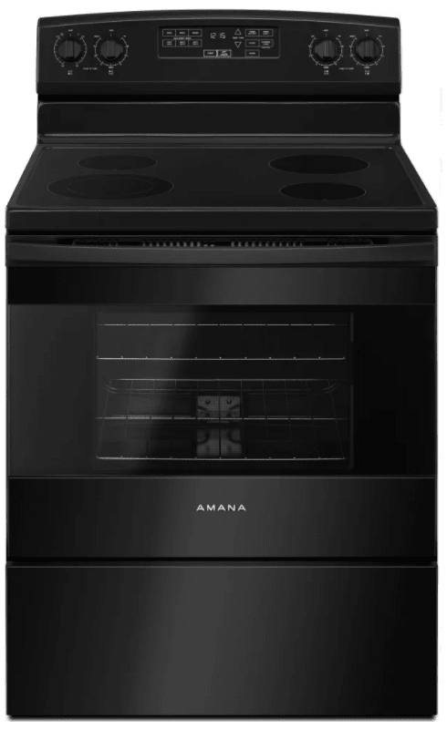 Amana AER6603SF 30 Inch Wide 4.8 Cu. Ft. Free Standing Electric Range with 3000 photo