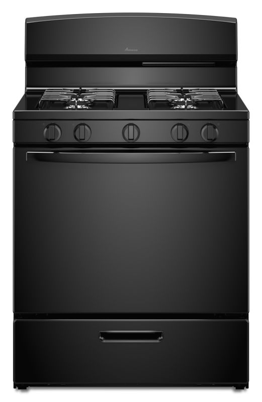 Amana AGR4230BA 30 Inch Wide 5.1 Cu. Ft. Free Standing Gas Range with SpillSaver photo