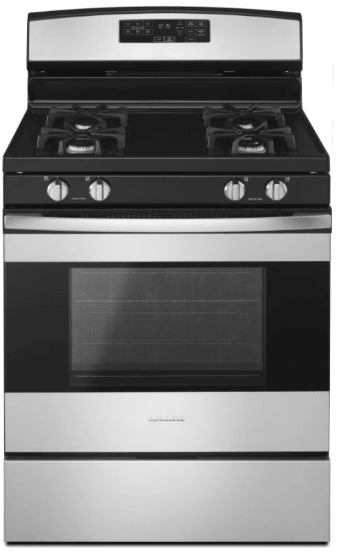 Amana AGR6603SF 30 Inch Wide 5.0 Cu. Ft. Free Standing Gas Range with Easy Acces photo