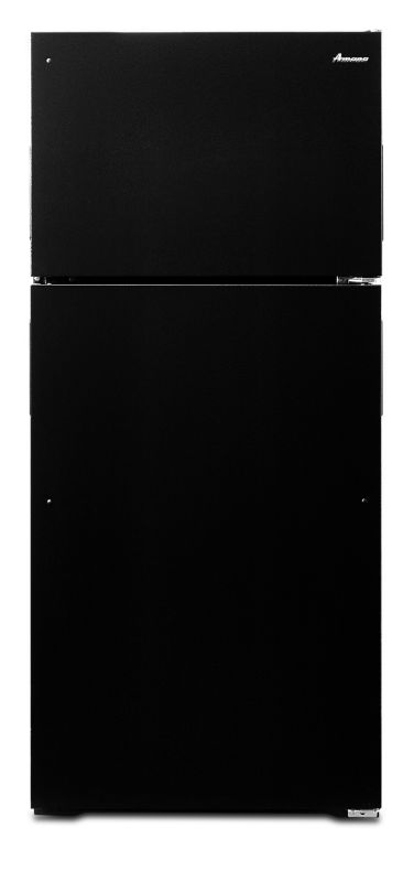 Amana ART106TFD 28 Inch Wide 16 Cu. Ft. Top Mount Refrigerator with Dairy Center photo
