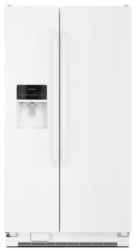 Amana ASI2575FR 36 Inch Wide 24.49 Cu. Ft. Side By Side Refrigerator with TempAs photo