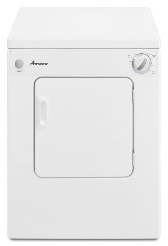 Amana NEC3120F 24 Inch Wide 3.4 Cu. Ft. Electric Dryer with Sensor Dry photo