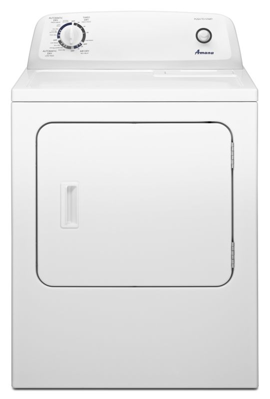 Amana NGD4655E 29 Inch Wide 6.5 Cu. Ft. Gas Dryer with Automatic Dryness Control photo