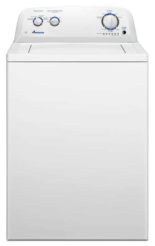 Amana NTW4516F 28 Inch Wide 3.5 Cu. Ft. Top Loading Washer with Dual Action Agit photo