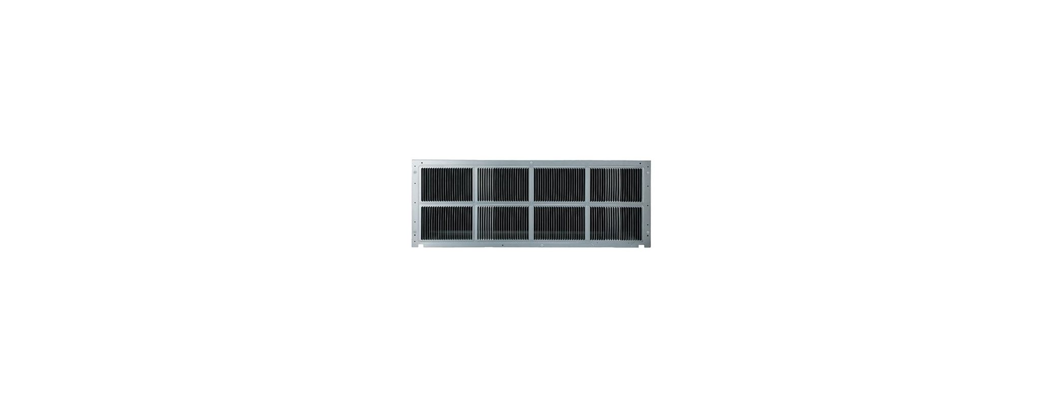 Amana SGK01B Exterior Stamped Aluminum Grille for Amana PTAC Units photo