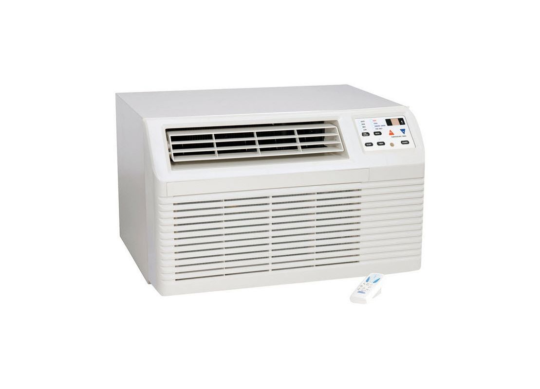 Amana PBH093G35CB Amana 9,300 BTU Through the Wall Heat Pump with 11,000 BTU Ele photo