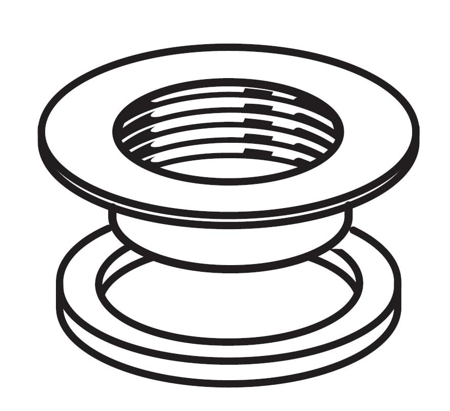 American Standard M962457-0020A Flange and Washer F/EZ Metal Drain photo
