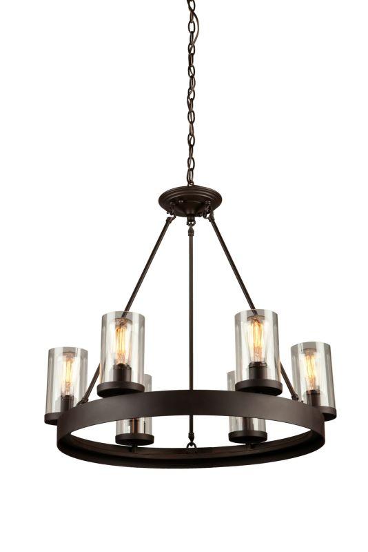 artcraft lighting ac10006 melno park 6 light chandelier 26 i