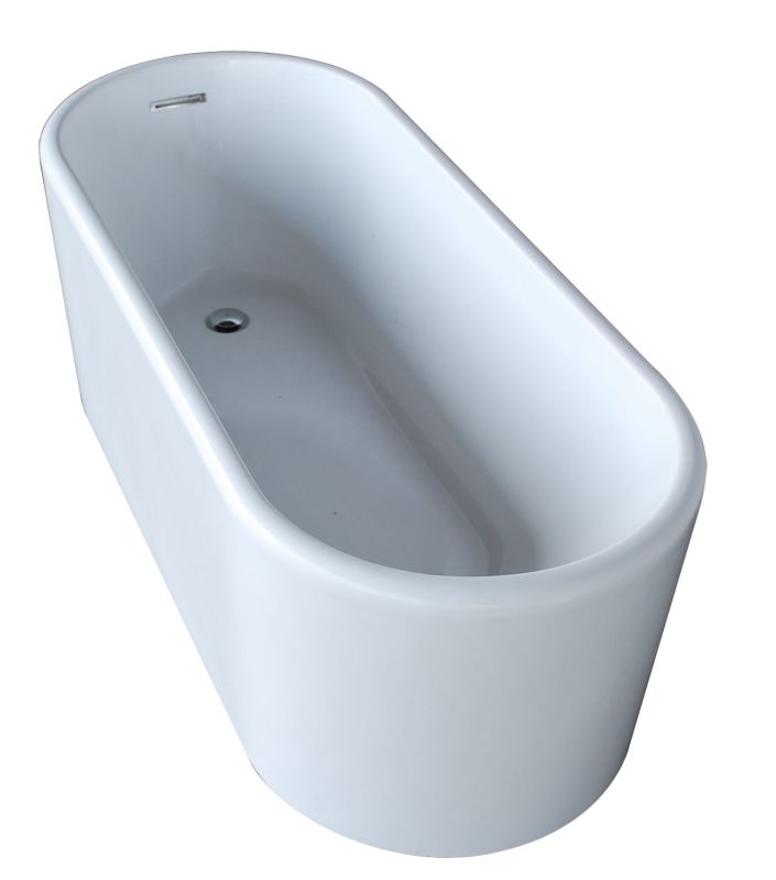 "Avano AV6728ENSXCWXX Freestanding Bathtubs 66-7/8"" Acrylic Soaking Bathtub for F"