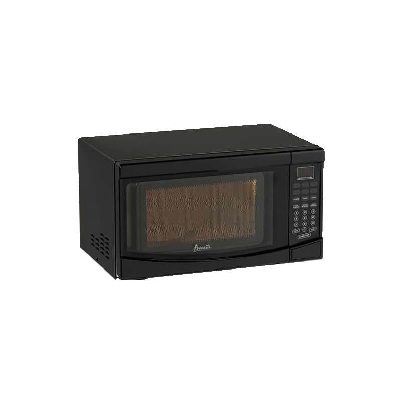 Avanti MO719 0.7 Cubic Foot Black Electronic Control Microwave photo