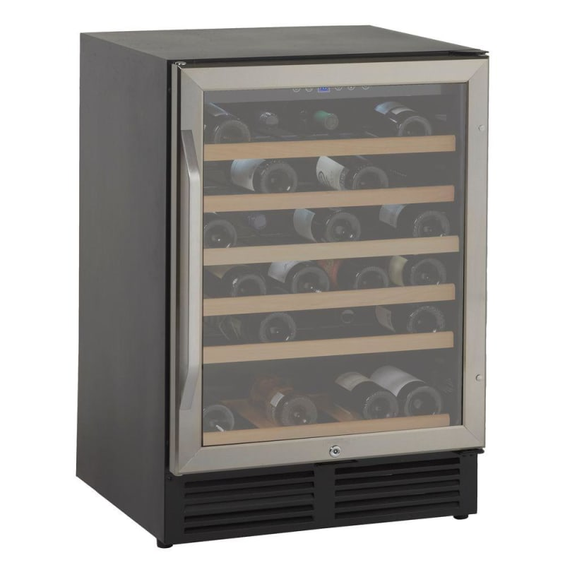 Avanti WCR506 50 Bottle Wine Cooler with Glass Door and Interior Light photo