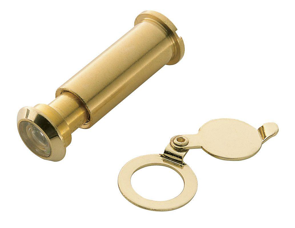 Door knockers house home - Brass door knocker with viewer ...