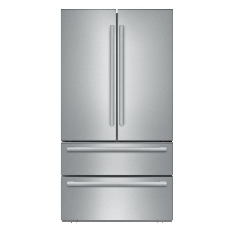 Bosch B21CL1SNS 800 Series 36 Inch Wide 21 Cu. Ft. French Door Refrigerator with photo