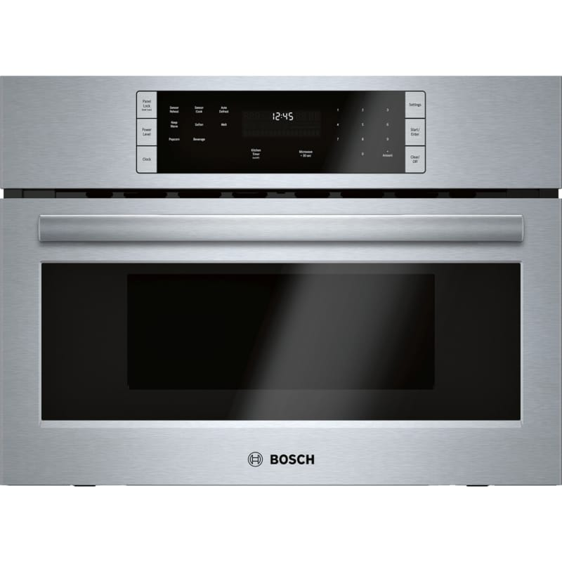 Bosch HMB57152UC 27 Inch Wide 1.6 Cu. Ft. Built In Microwave with Automatic Sens photo