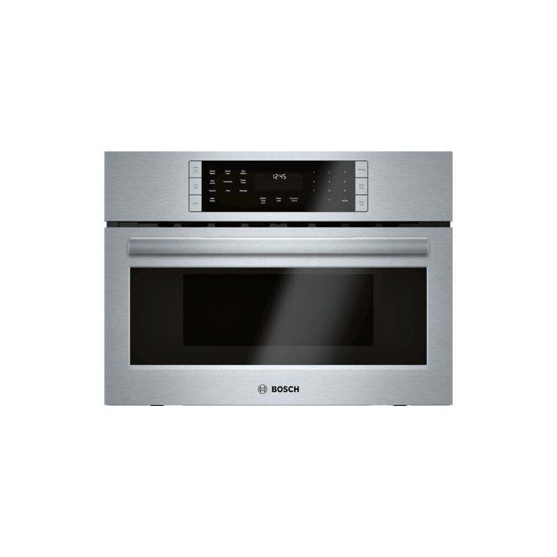 Bosch HMC8712UC 800 Series 27 Inch Wide 1.6 Cu. Ft. Built-In Microwave Oven with photo