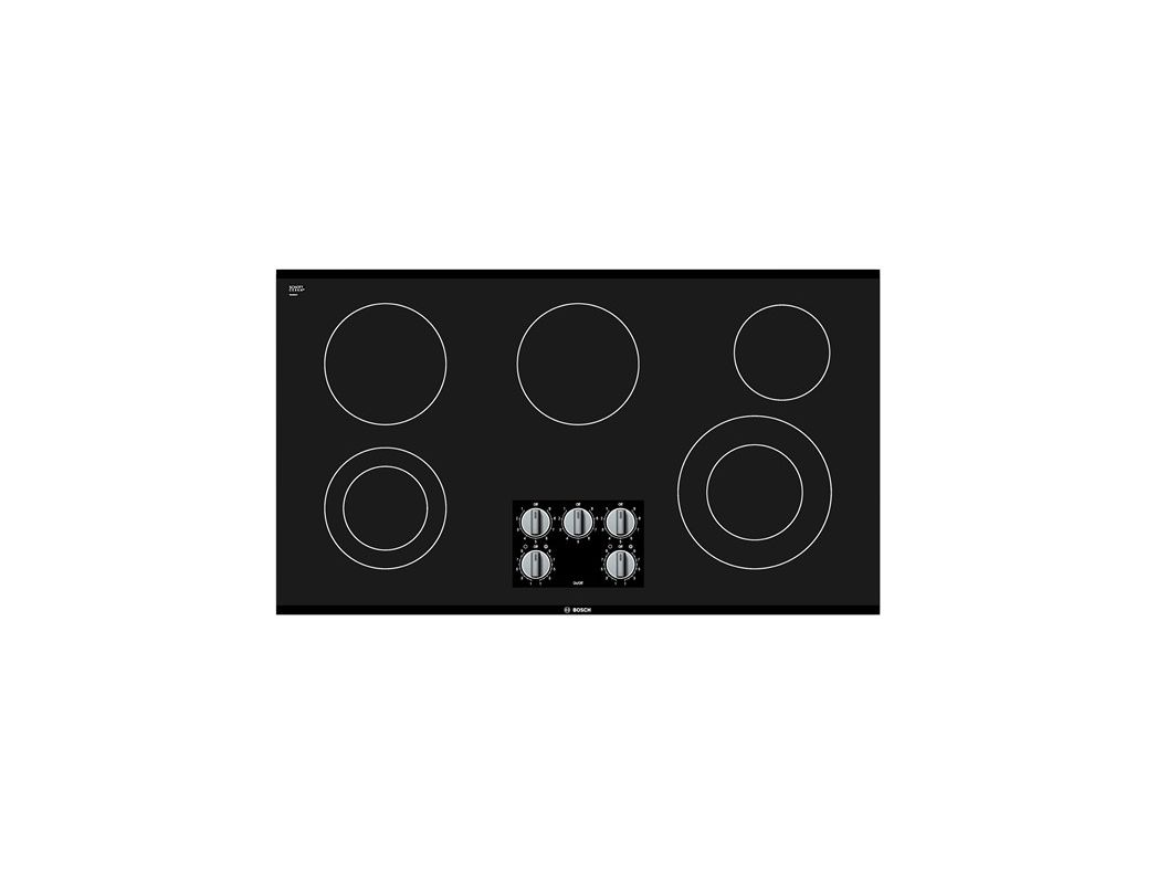 Bosch NEM5666UC 36 Inch Electric Cooktop with Dual Elements photo