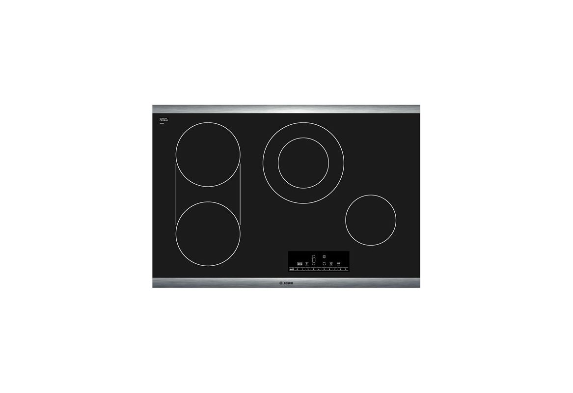 Bosch NET8066 30 Inch Electric Cooktop with PreciseSelect Temperature Selection photo