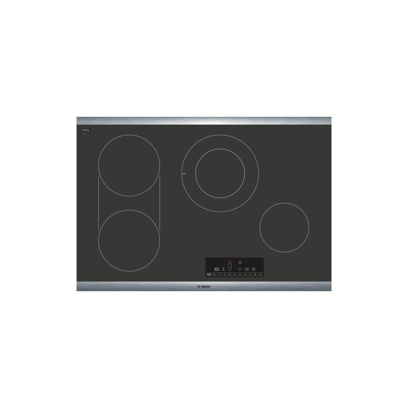 Bosch NET808UC 800 Series 30 Inch Wide Built-In Electric Cooktop with PreciseSel photo