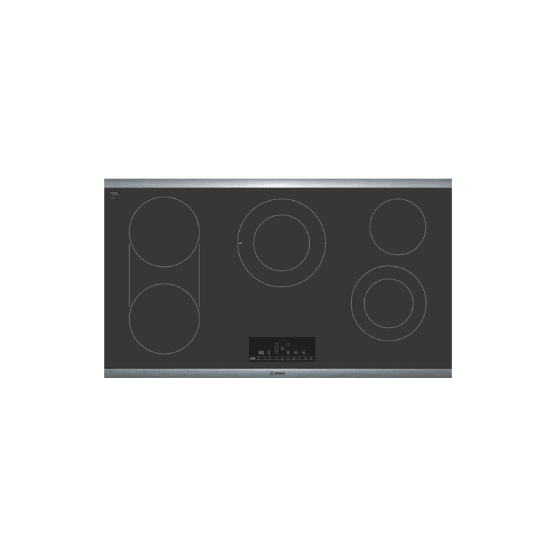 Bosch NET868UC 800 Series 36 Inch Wide Built-In Electric Cooktop with PreciseSel photo
