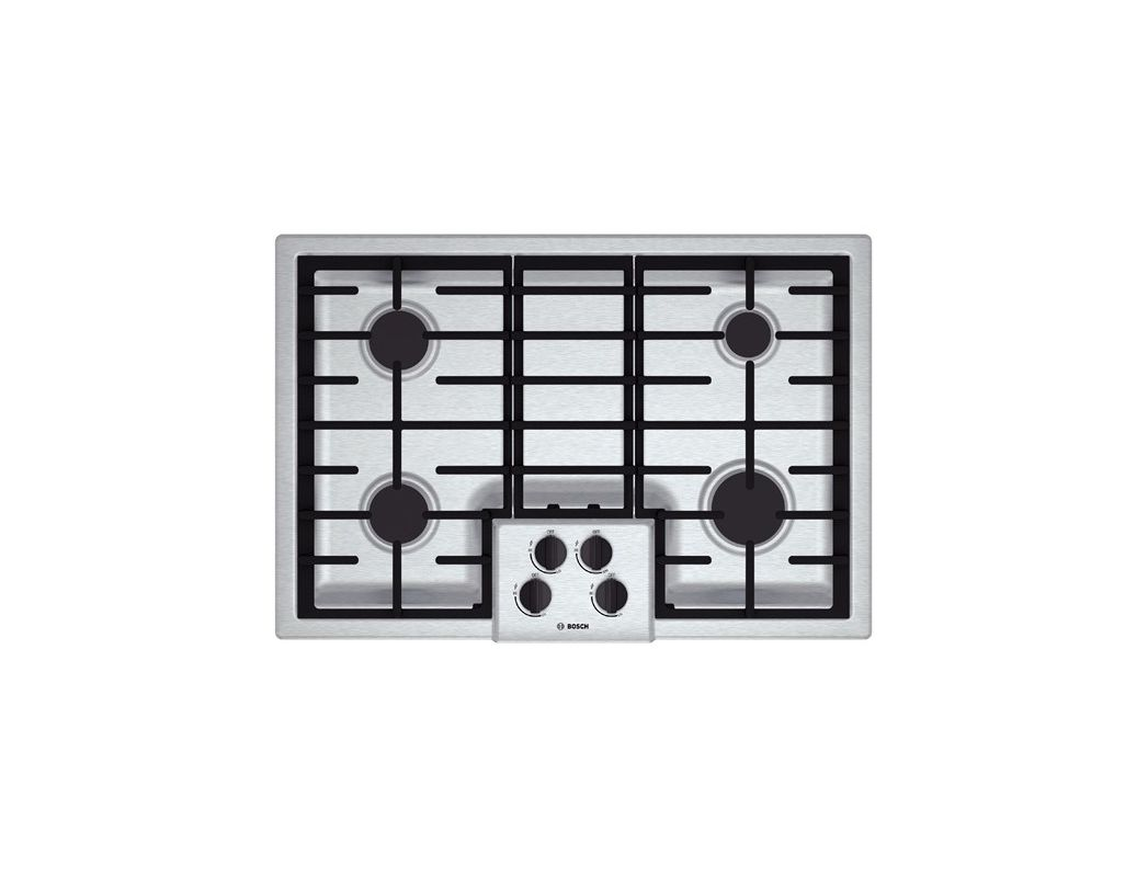 Bosch NGM5055UC 30 Inch Gas Cooktop with Automatic Electronic Re-Ignition photo