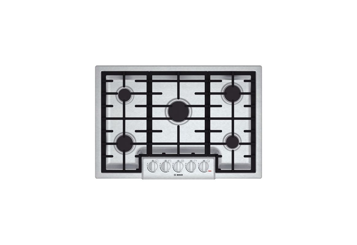 Bosch NGM80 30 Inch Five Burner Gas Cooktop with 18,000 BTU Power Burner from th photo