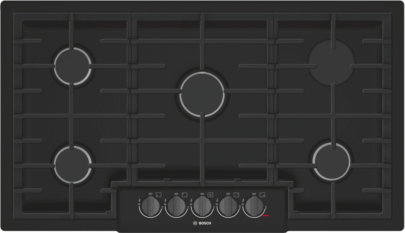 Bosch NGM8646UC 800 Series 36 Inch Wide Built-In Gas Cooktop with 5 Sealed Burne photo