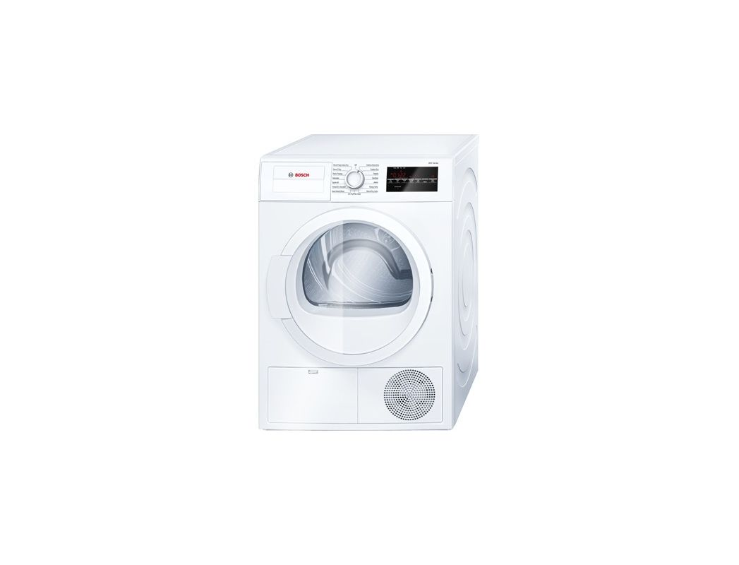 Bosch WTG86400U 24 Inch Wide 4 Cu. Ft. Electric Dryer with Ventless Condensation photo