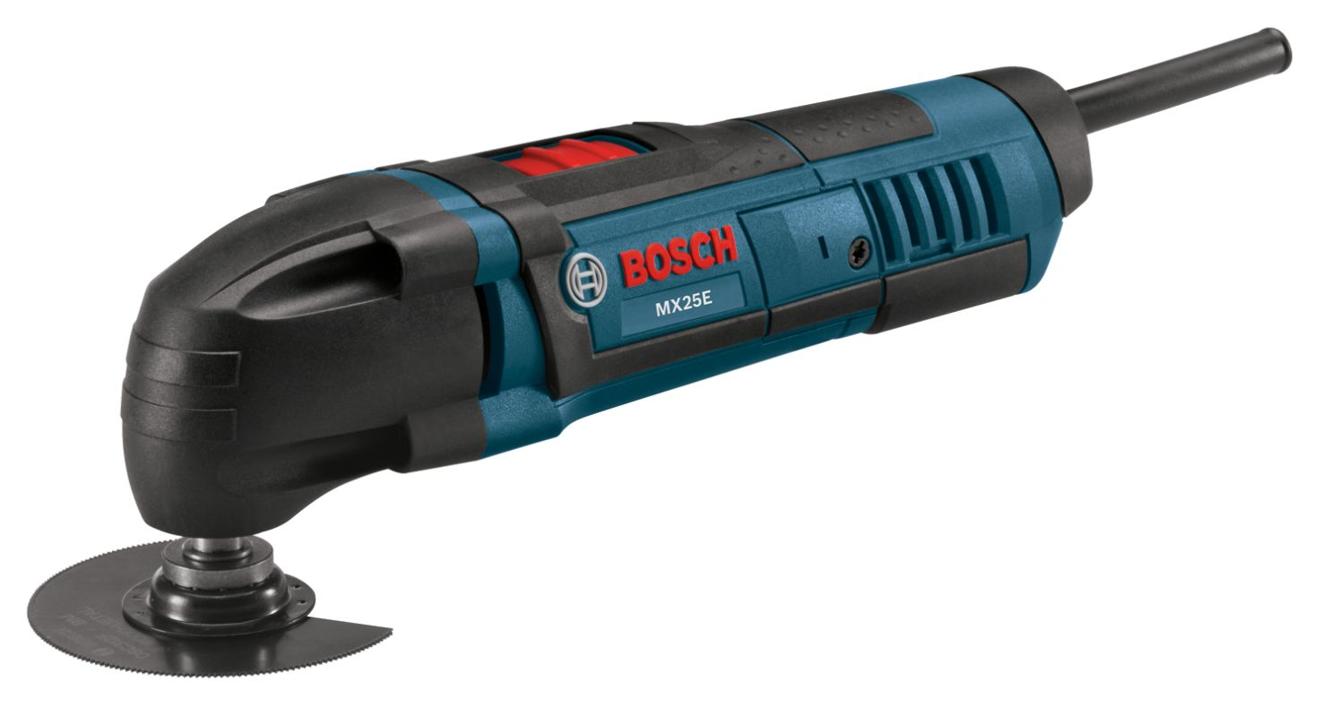 Bosch MX25EC-21 Multi-X Oscillating Tool Kit with Sanding, Scraping and Cutting photo