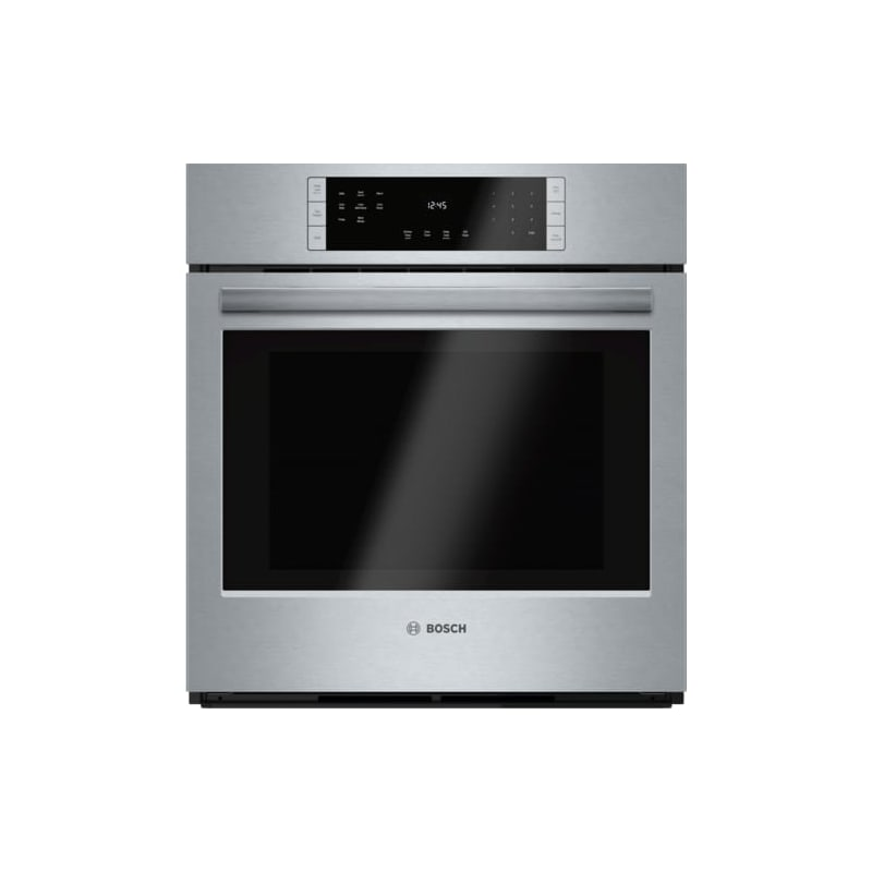 Bosch HBN8451UC 27 Inch 3.9 Cu. Ft. Wall Oven with European Convection from the photo
