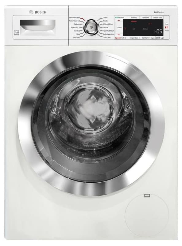 Bosch WAW285H2U 24 Inch Wide 2.2 Cu. Ft. Front Loading Washer with Speed Perfect photo