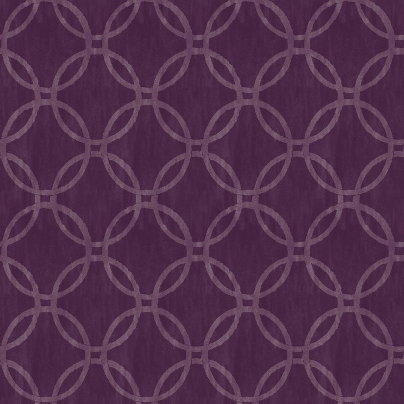 Brewster 2535-20642 Ecliptic Purple Geometric Wallpaper