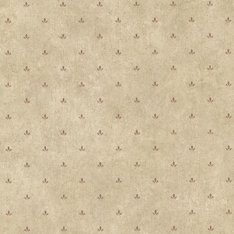 Brewster CTR66415 Josie Burgundy Paw Print Texture Wallpaper