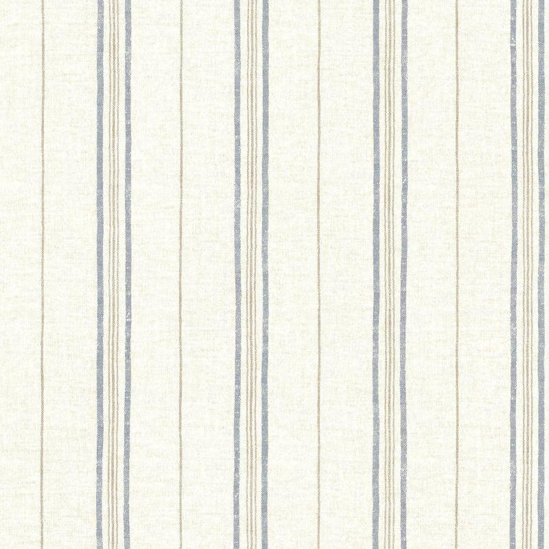 Brewster SRC49512 Calais Navy Grain Stripe Wallpaper