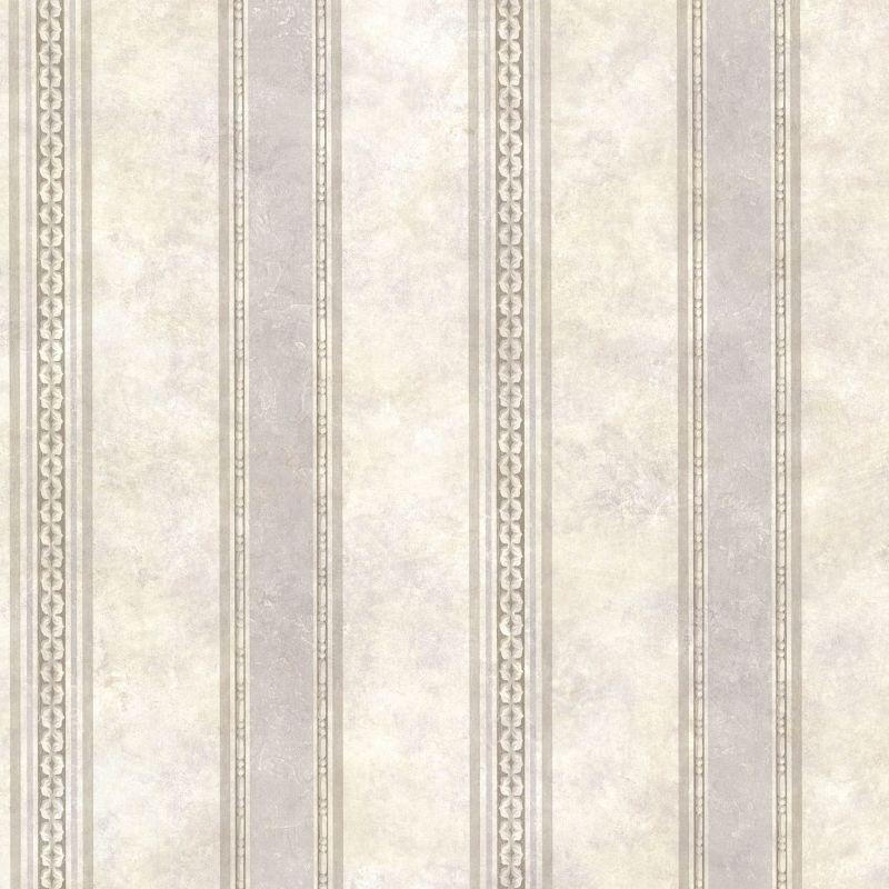 Brewster SRC761911 Castine Fog Tuscan Stripe Wallpaper
